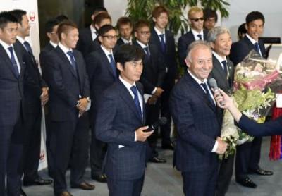 日本代表と監督3