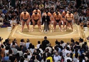 Nagoya Grand Sumo Tournament - Day One